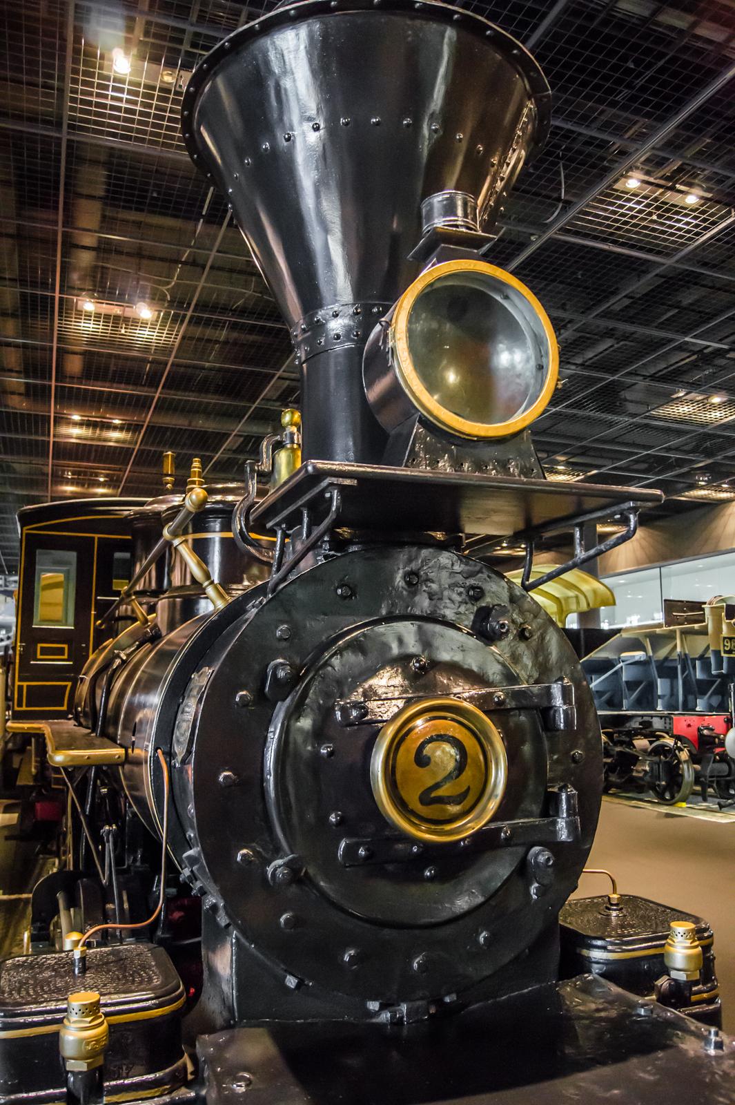 7100形式蒸気機関車 車号7101の写真 (1880年製造)