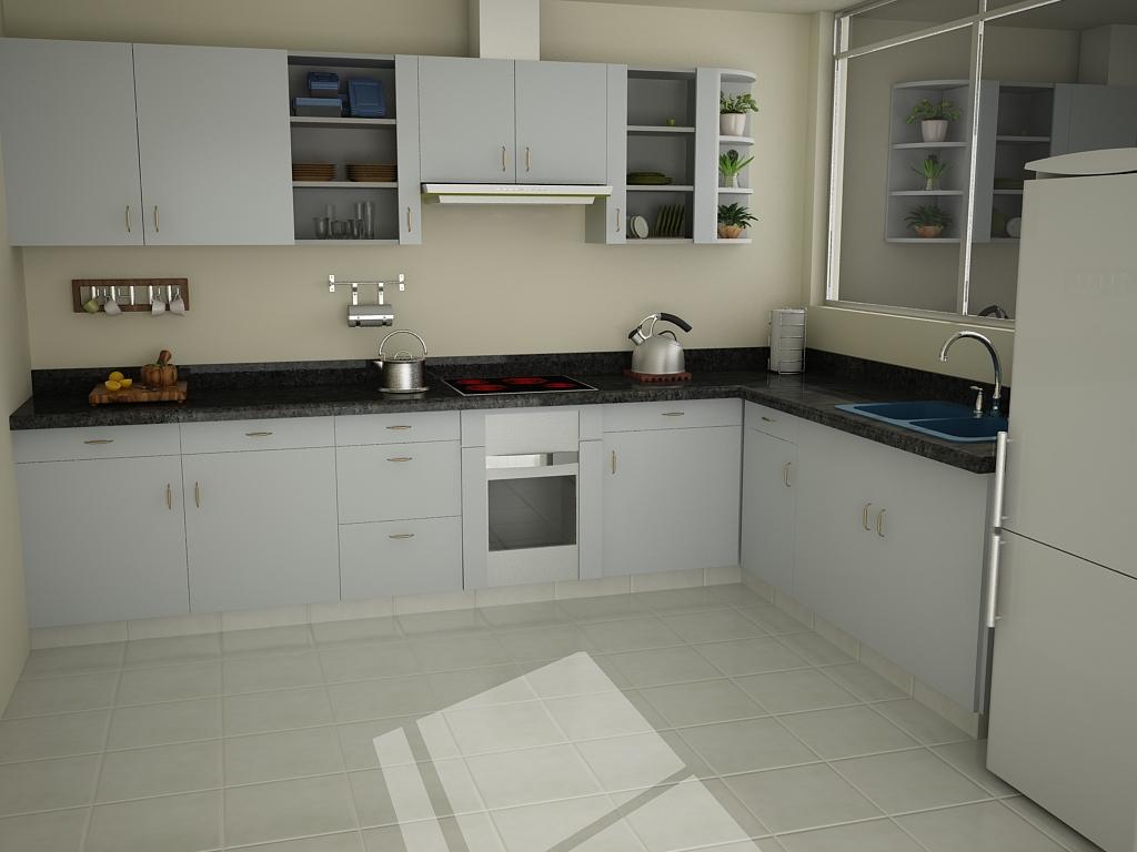 diseño de muebles hechas para la remodelación de una cocina en sjl