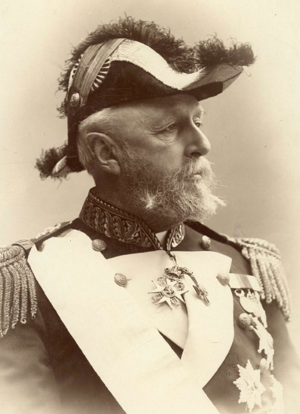 Oscar II, King of Sweden and Norway, 1880
