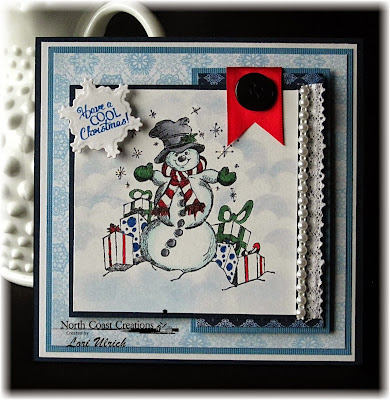 Stamps - North Coast Creations Let It Snow, Our Daily Bread Designs Custom Snowflakes Die