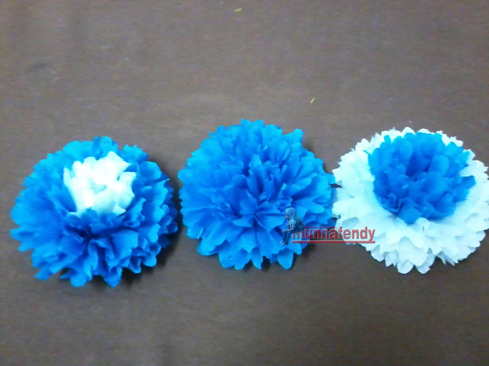 Cara buat bunga tisu macam seni qanasuri?