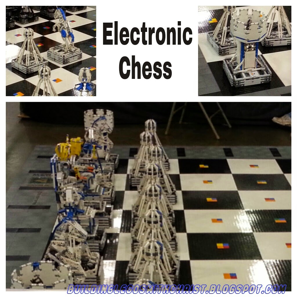 Brickworld Lego Electronic Chess