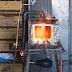 بالفيديو شرح طريقة صنع فرن محلي الصنع  لزخرفة الحديد المشغول  وتذويب الالومنيوم Iron Furnace