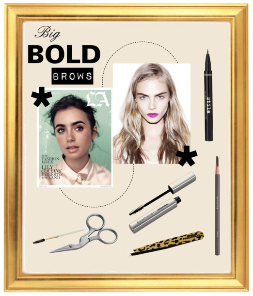 how to get model eyebrows