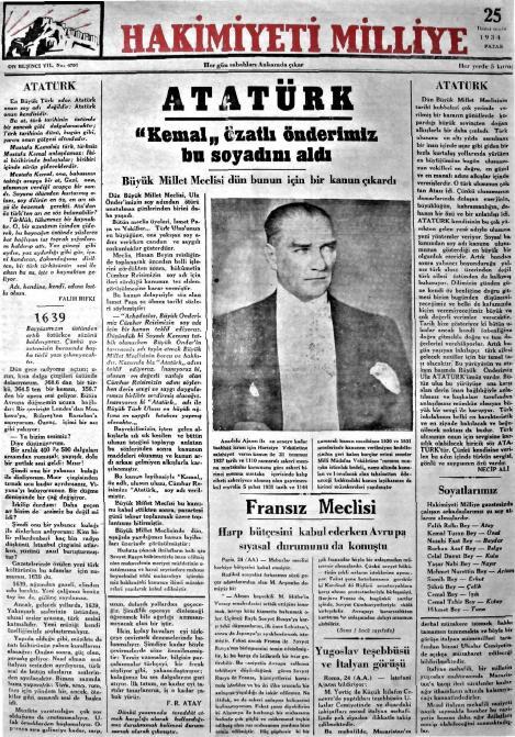 Gazete Manşetleri Arşivi