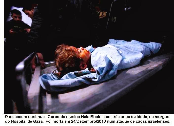Massacre de crianças palestinas