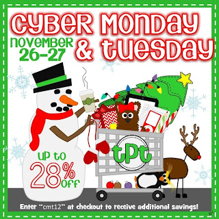 http://www.theschoolsupplyaddict.com/1/post/2012/11/tpt-cyber-monday-tuesday-sale.html