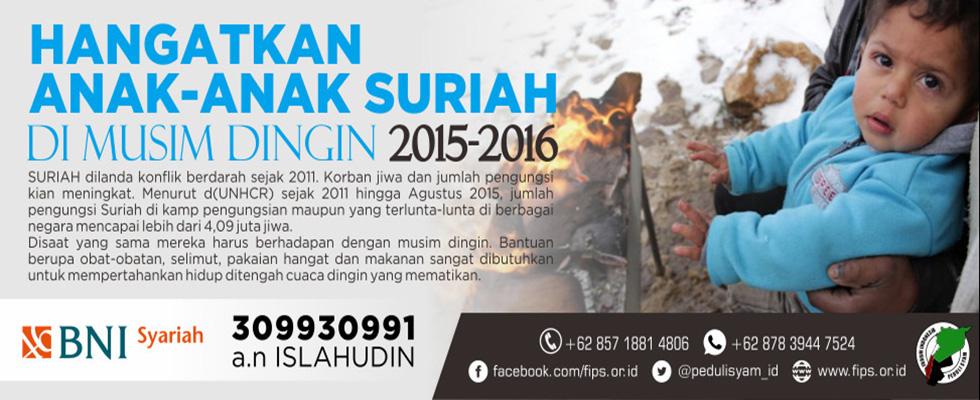 Bantuan Kemanusiaan untuk Suriah