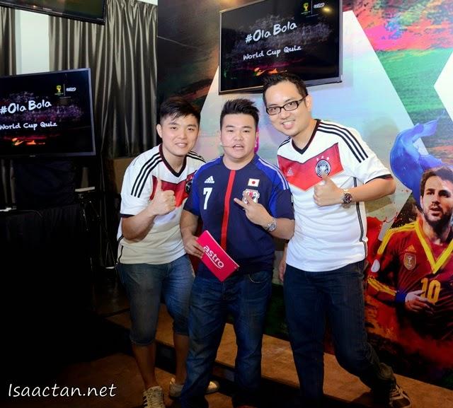 My team, together with Saimatkong and MC Reuben.