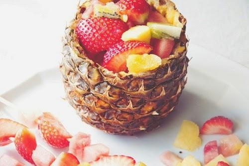 salada de Frutas Light, elimine as calorias