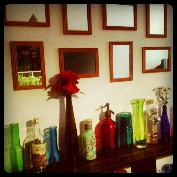 espelhinhos de R$ 1,99 na decoração