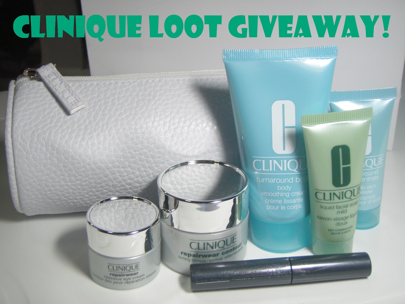 MY Gorgeous Pink Cheeks: Clinique Loot Giveaway!