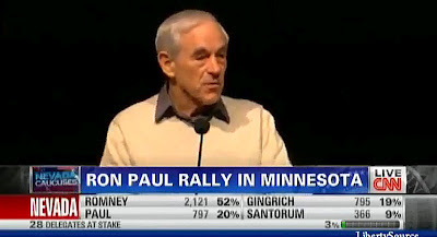 Ron Paul's Nevada Caucus Speech VIDEO