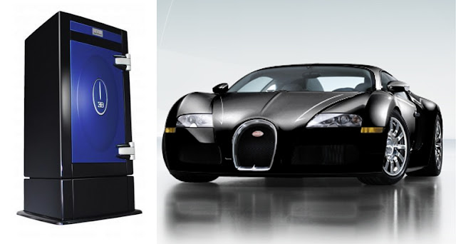 Bugatti Veyron 16.4 With Stockinger Safe