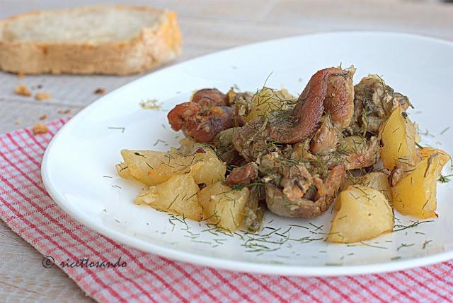 Straccetti di maiale al finocchietto ricetta di carne