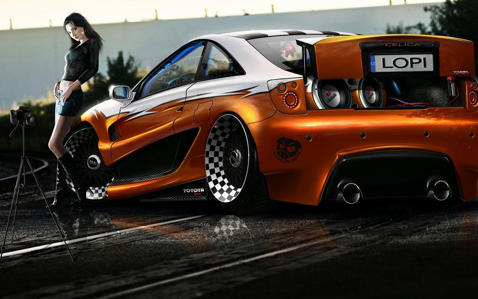 Toyota Celica Tuning New Car Modification