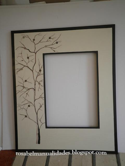 rosabel manualidades marcos para espejos decorados