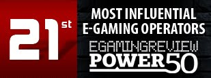 Dafabet is rank number 21 of the most influential e-gaming operators by EGaming Review.