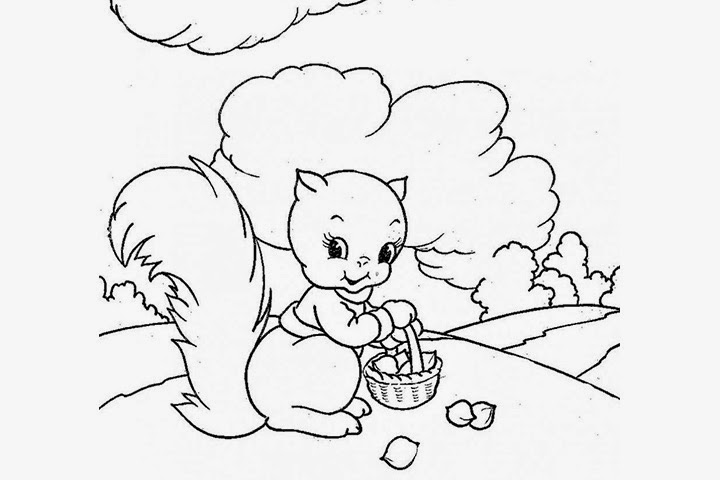 Coloring Pages Cute and Easy Coloring