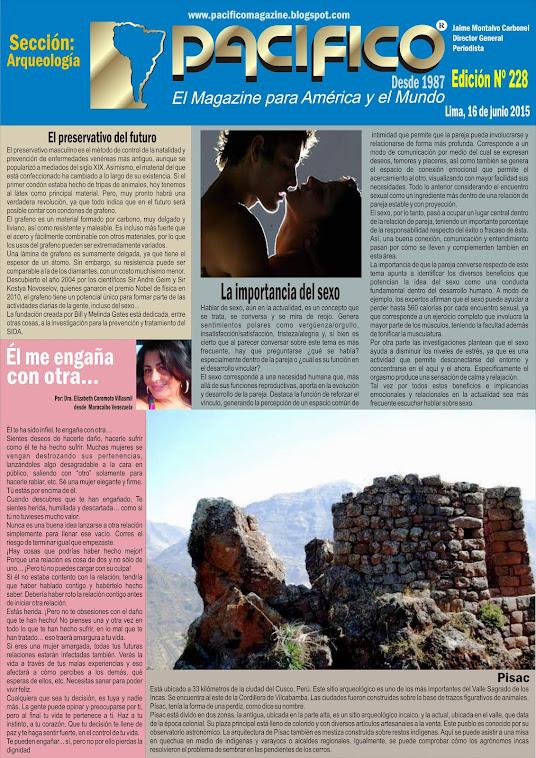 Revista Pacífico Nº 228 Arqueología