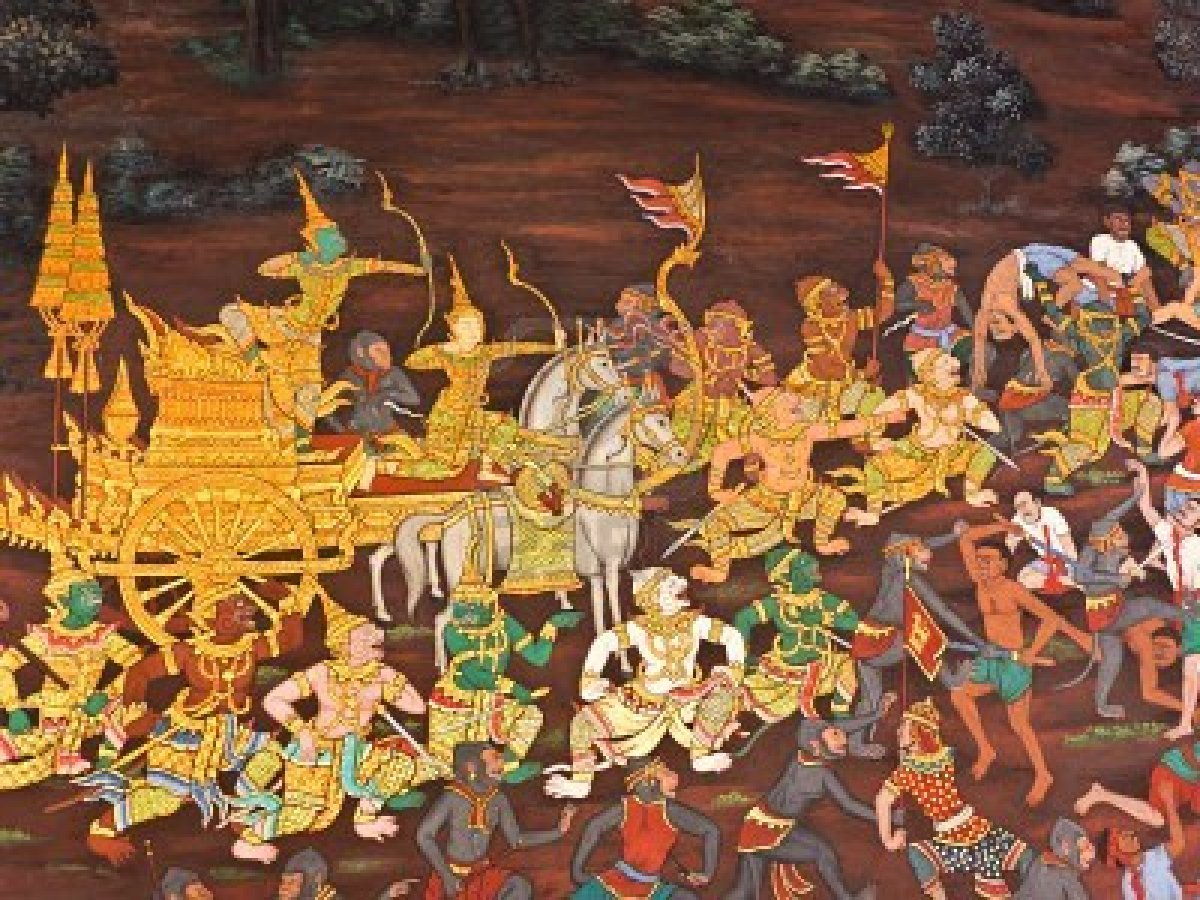 the ramayana Swami sivanandaji on the origins of the ramayana and also a summary of it.