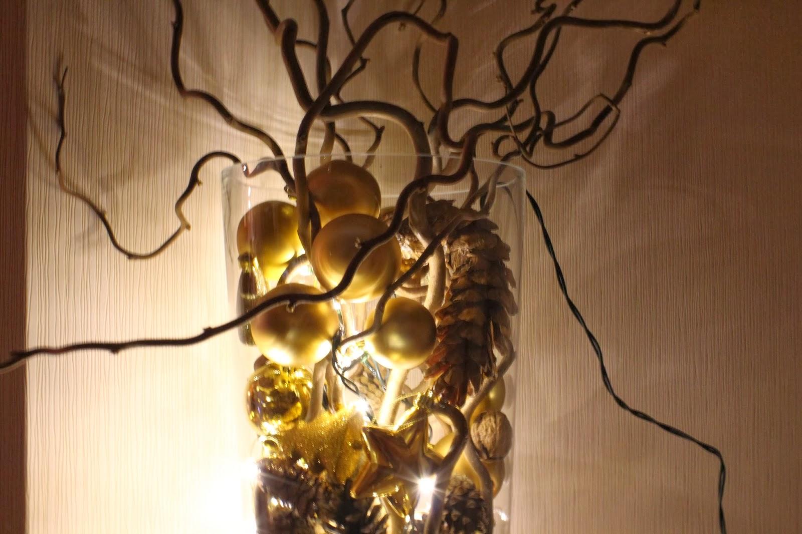 vasen weihnachtlichen aufpimpen daydreamin blog. Black Bedroom Furniture Sets. Home Design Ideas