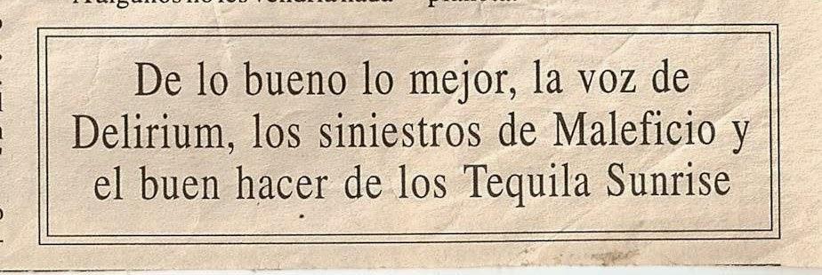 __/__/1998 LA TRIBUNA DE CIUDAD REAL (Delirium)