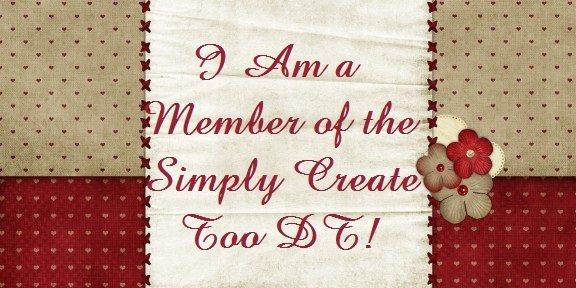 ♥ Ich bin im Designteam bei Simply Create Too ♥