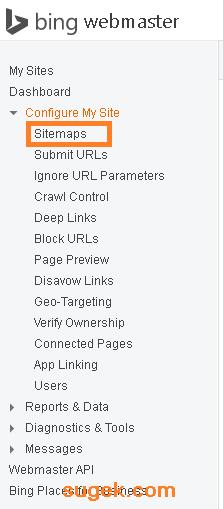 cara mensubmit sitemap blog ke bing webmaster