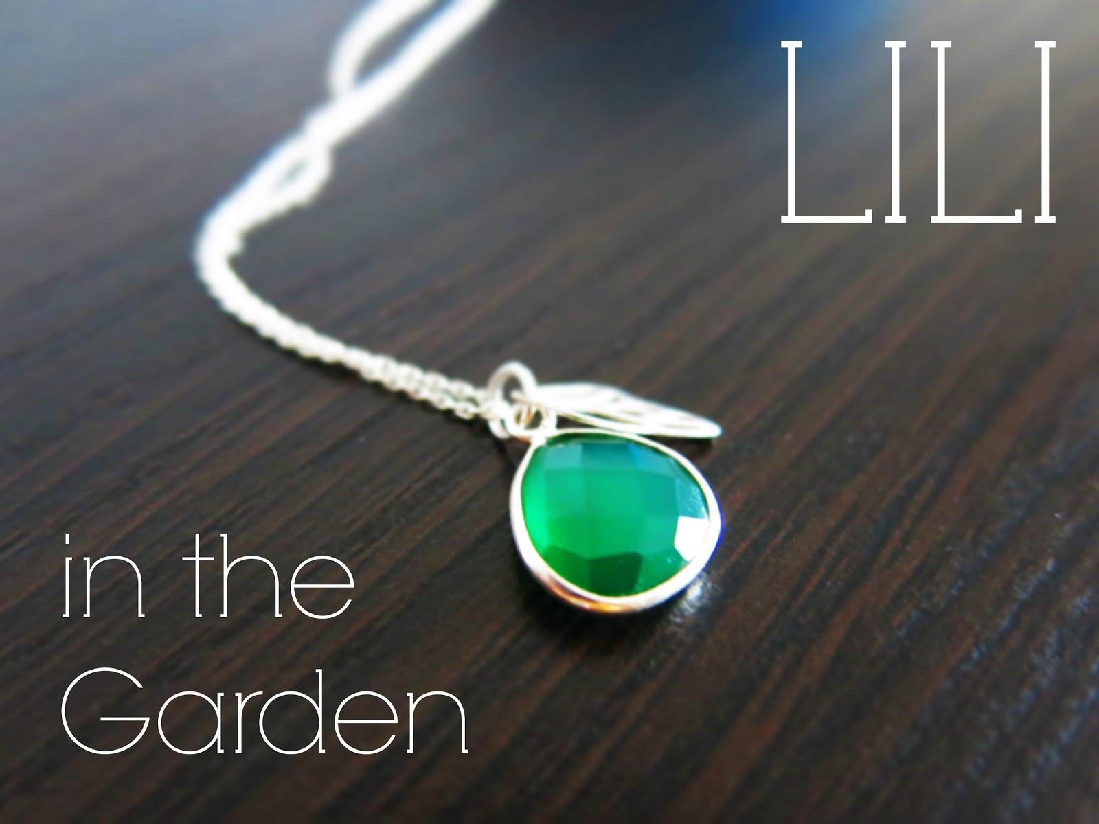 Naszyjnik od Lili in the Garden.