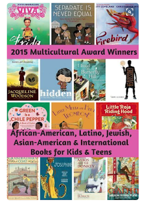 http://abooklongenough.com/blog/2015-multicultural-award-winners-in-kids-books-african-american-latino-asian-american-jewish-international-jewish-titles