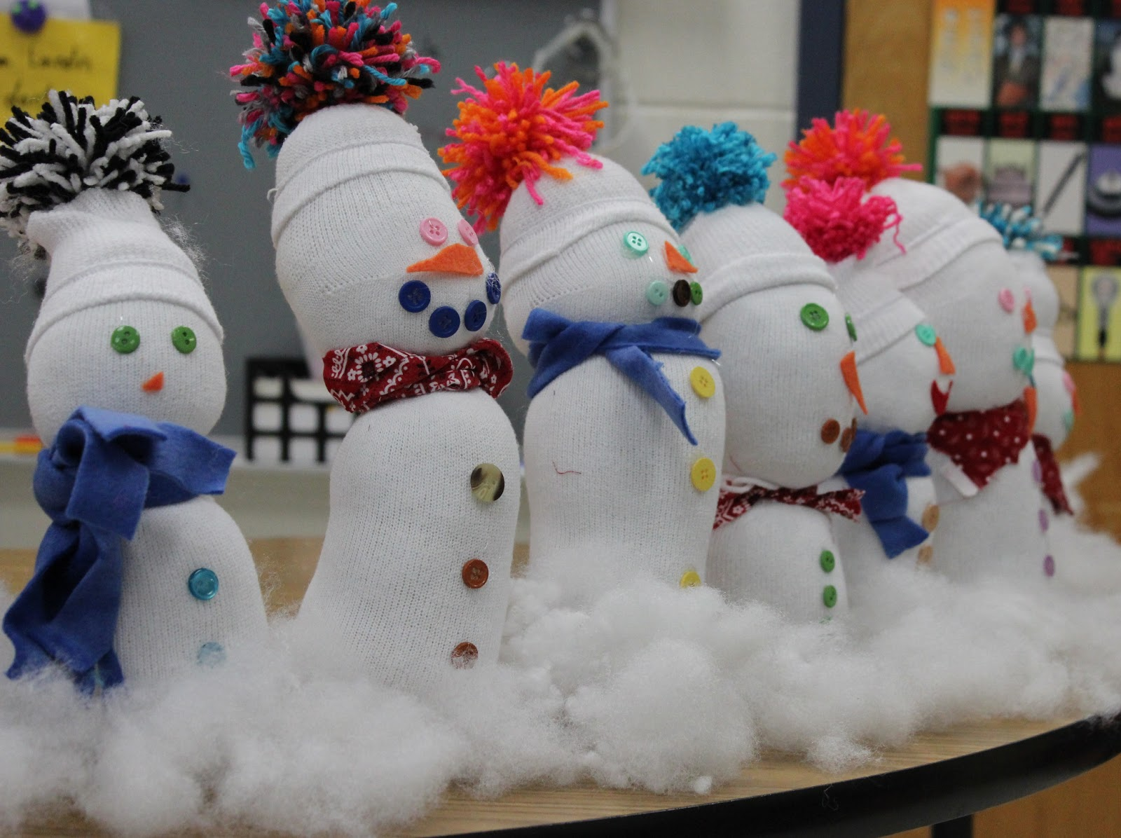 1st Grade Christmas Party Ideas Part - 34: Snow Buddies - First Grade Fun