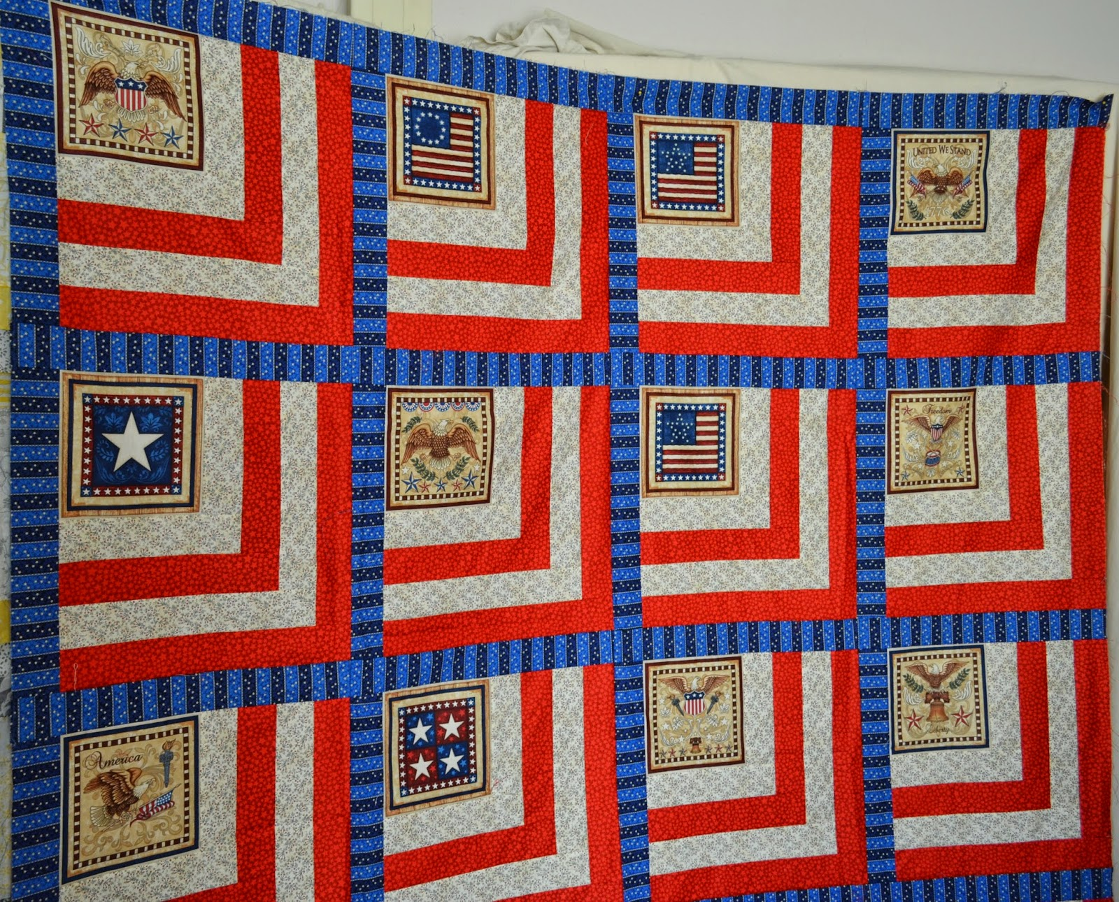 Quilt Patterns For Quilts Of Valor : Attic Threads & Quilts: Quilts of Valor Panel Pattern