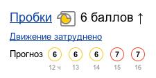 Московские пробки прогноз на пять часов
