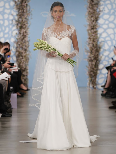 Oscar de la Renta Spring 2014 Lace Wedding Dresses