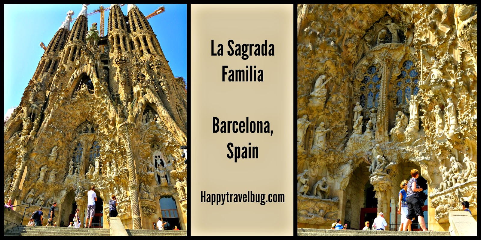 The happy travel bug la sagrada familia in barcelona spain for La sagrada familia barcelona spain