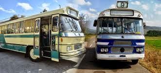 Τα θρυλικά μπλε λεωφορεία
