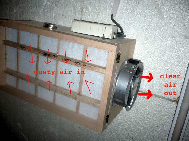 luftfilter bauen