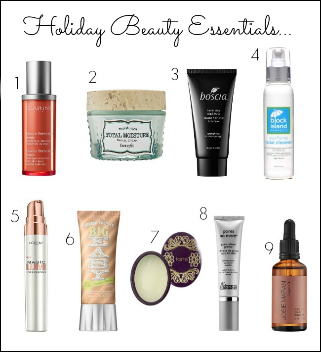 holiday beauty - holiday beauty products - holiday beauty essentials - everyday beauty essentials - holiday skincare
