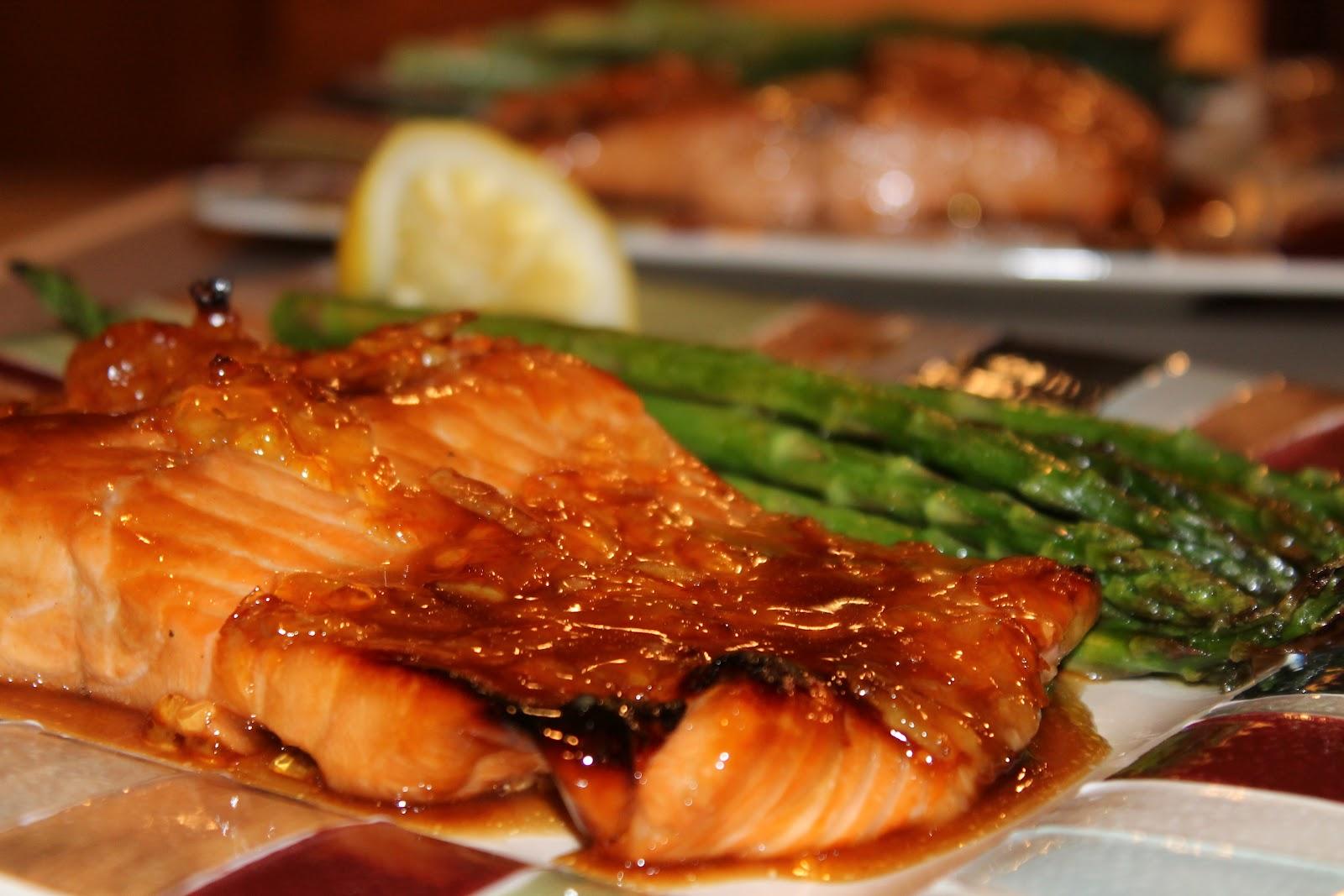 Busy Bites: Orange-Honey Glazed Salmon