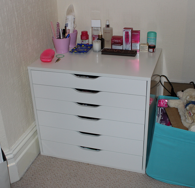 New Makeup Storage | Suzy Hearts Beauty