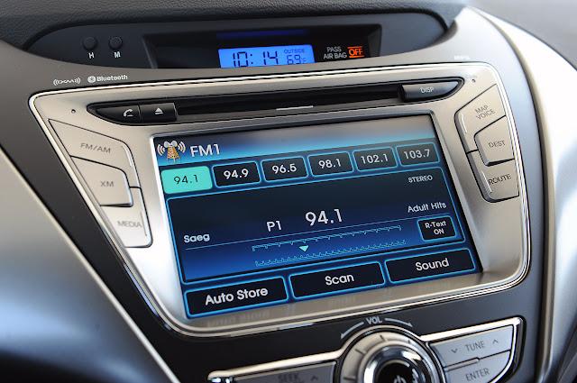 магнитофон Hyundai Elantra Coupe 2013