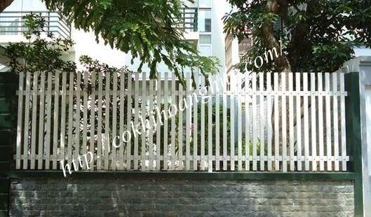 Hàng rào sắt đẹp cho sân vườn