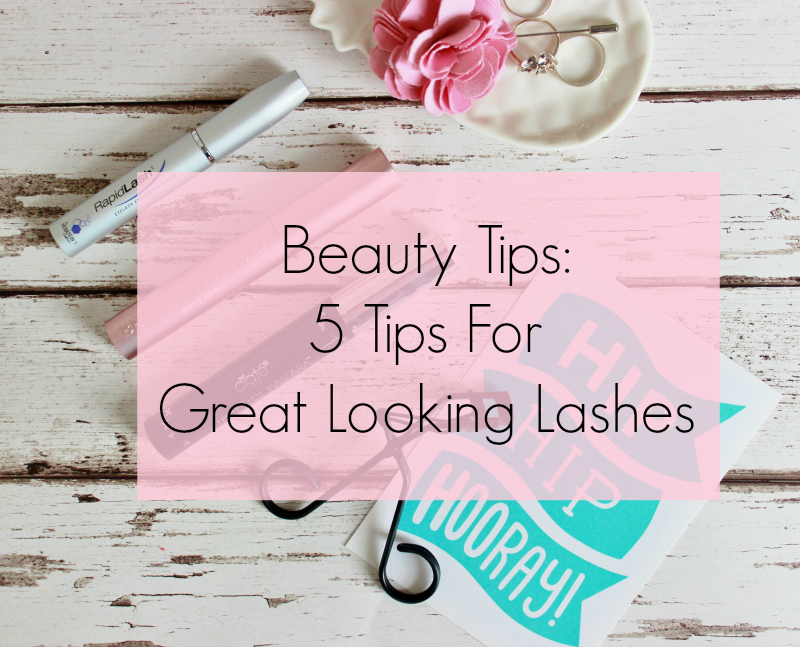 Beauty tips - top tips for great looking lashes