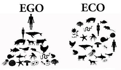 Seres humanos acreditavam que ELES e a TERRA eram o centro do universo... que tolos... ego eco