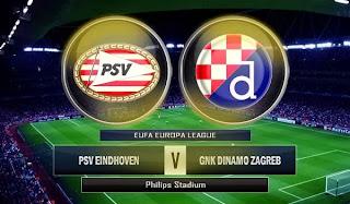 PSV Eindhoven vs GNK Dinamo Zagreb