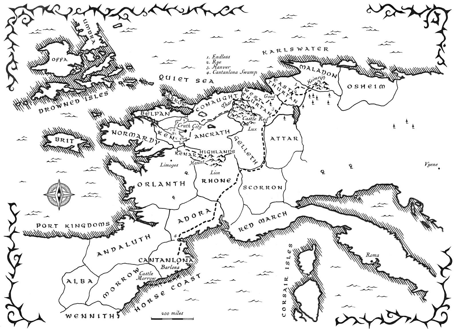 Berserk World Map Www Topsimages Com