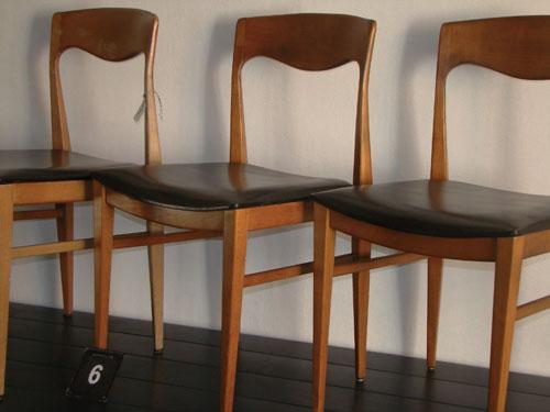 Room1164deco 6 chaises esprit scandinaves chez room1164 for 6 chaises scandinaves
