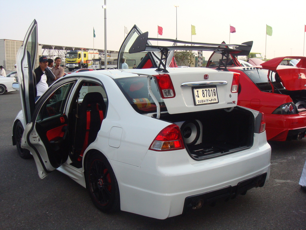 MODIFIED HONDA CIVICS ~ Sports & Modified Cars