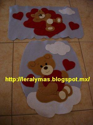 Juegos De Banos En Fieltro http://leralymas.blogspot.com/2012/05/otro ...
